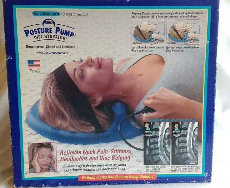 posture pump disc hydrator instructions