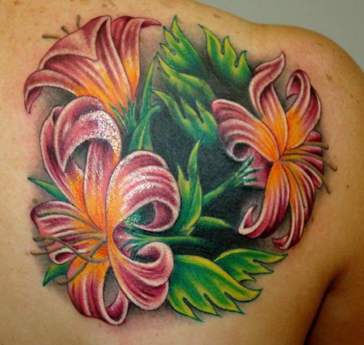 A flower tattoo can look amazing especially if it is in full color. Description from zackdarklighters.blogspot.com. I searched for this on bing.com/images