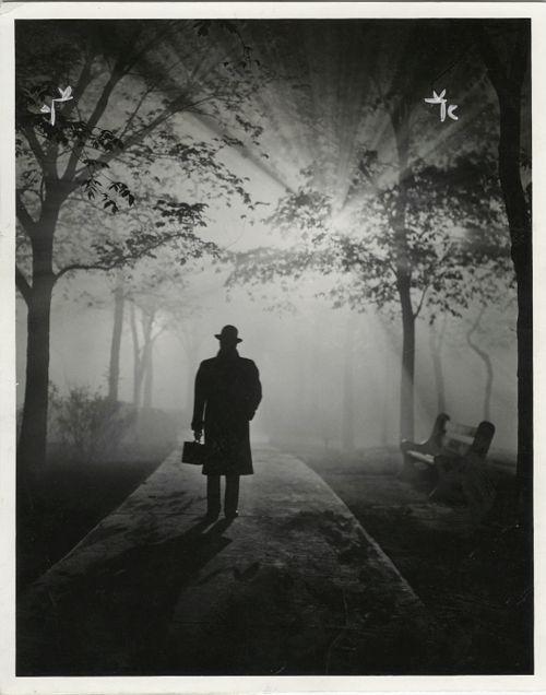Thomas Stanton - Man in Fog, 1940.