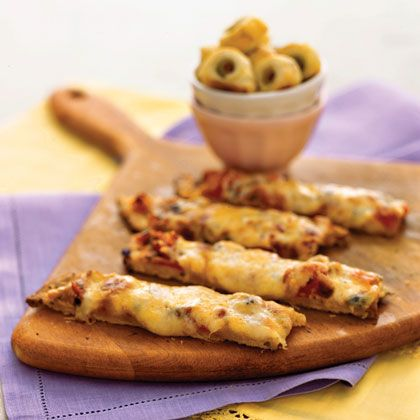 Pizza sticks from Cooking Light.