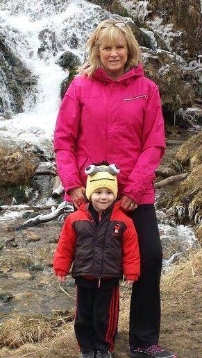 Declan and Grandma on a Saturday morning (Easter weekend) hike.