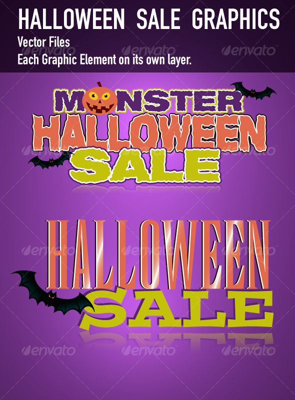 Halloween Sale Art Graphics