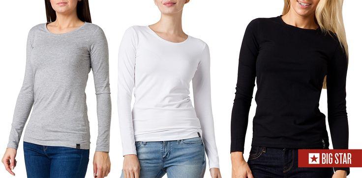 #brand #brandpl #springsummer2014 #bigstar #longtshirt #tshirt #basic #black #white #grey
