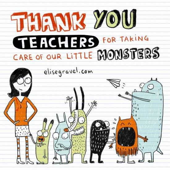 Elise Gravel -Thank you, teachers!