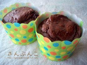「卵油砂糖不使用しっとり濃厚チョコマフィン」auko | お菓子・パンのレシピや作り方【corecle*コレクル】