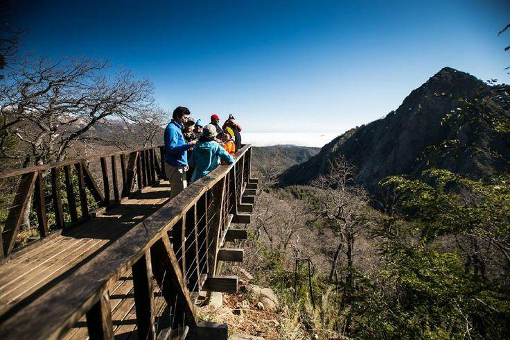 #TurismoSanClemente   MIRDOR ANTUMAHUIDA.  Reserva Nacional Altos de Lircay