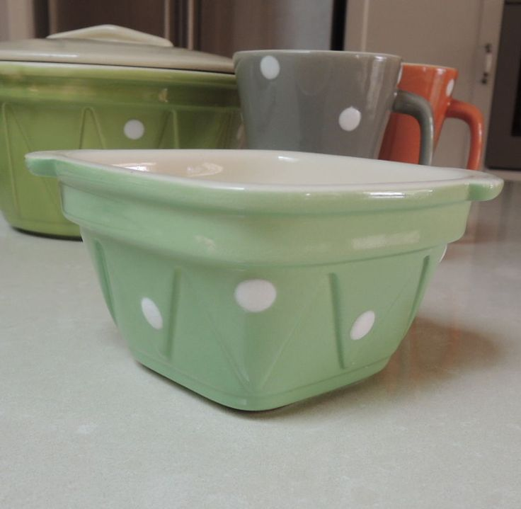 Retro Diana Polka Dot Spotty Ramekin