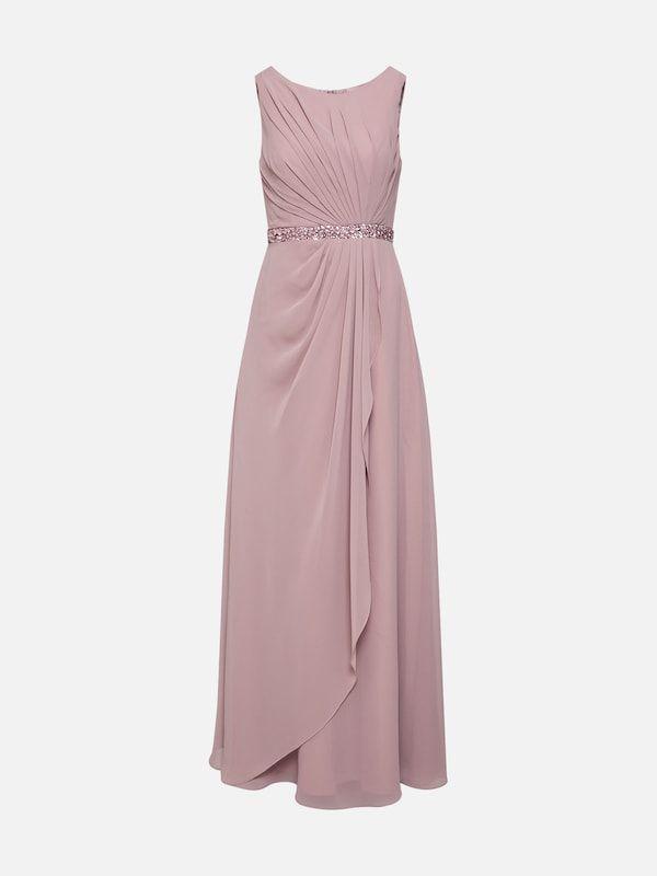 Mascara Abendkleid Mc181250b In Mauve About You Abendkleid Kleider Modestil