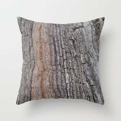 "Throw Pillow / Indoor Cover (16"" X 16"") • 'Bark' • IN STOCK • $20.00 • Go to the store by clicking the item."