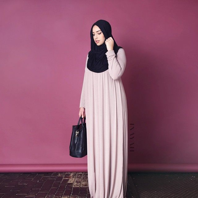 """islamic-fashion-inayah: """" - A throwback to our CURVE campaign, showing you how versatile all INAYAH designs are in both style & fit, across our entire range. Mocha Casual Abaya -..."""