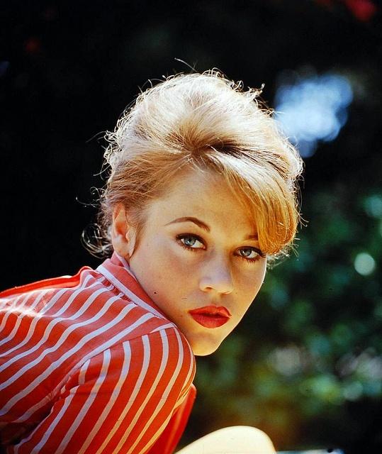 Jane Fonda, photo by Allan Grant 1961