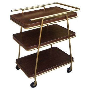 Check out this item at One Kings Lane! Midcentury Bar Cart