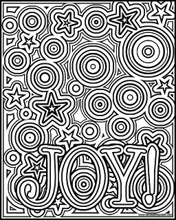 Joy Coloring Page Available In A Negative Version As Well Both JPG And Transparent