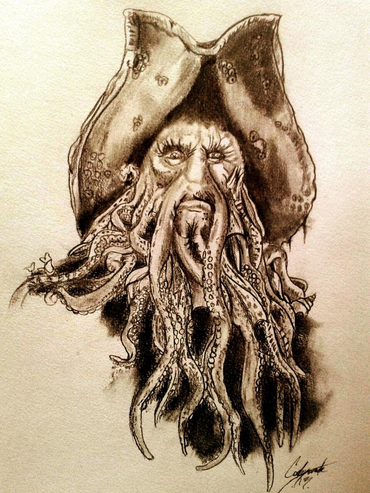 Pirates of the Caribbean art by Codey Wade