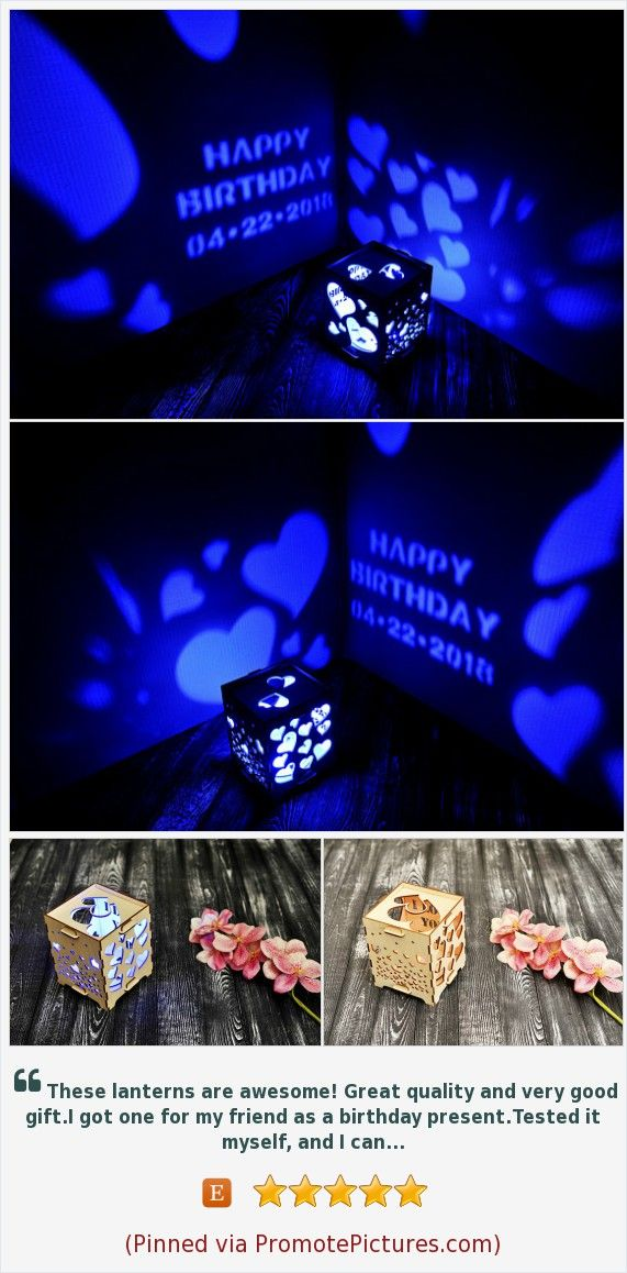 Distance Birthday Gift For Her Teen Girlfriend Wood Lamp With Led Candle Present Mother Bedside Night Light Custom Sign