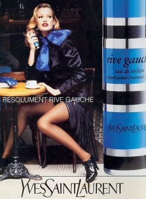Rive Gauche EDT...my favourite classic floral aldehyde.  This has the most beautiful drydown of all the perfumes in my collection, an enticing powdery sweetness that makes you want to keep sniffing!
