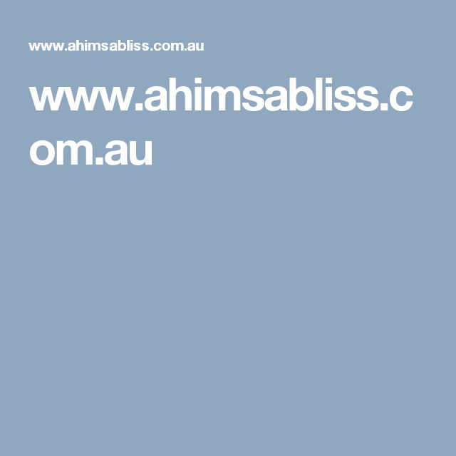 www.ahimsabliss.com.au