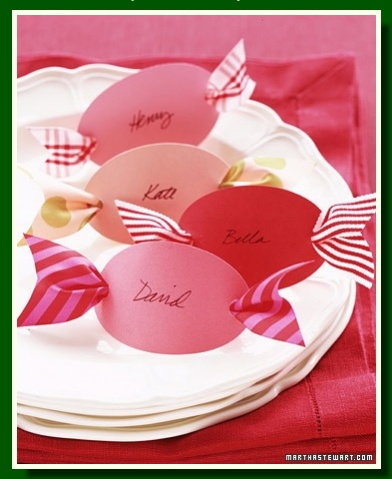 Cute place cards!