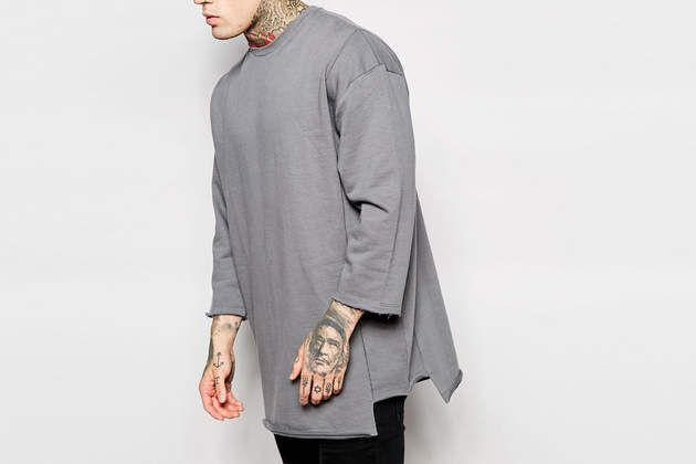 Check out the Panelled Sweater on WHATDROPSNOW