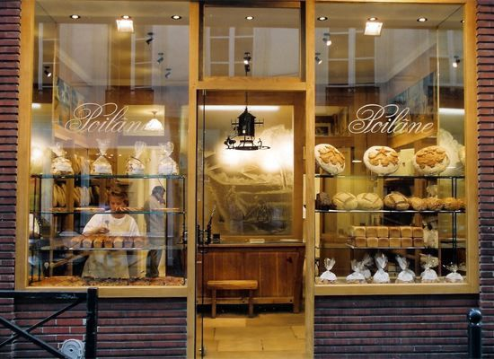 Poilâne Bakery in Paris. They ship to the states via FedEx!