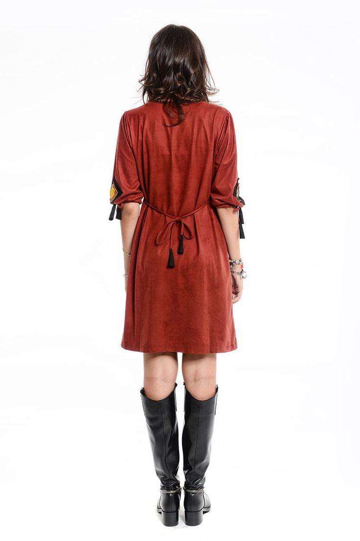Otantik Harran Elbise - Kiremit