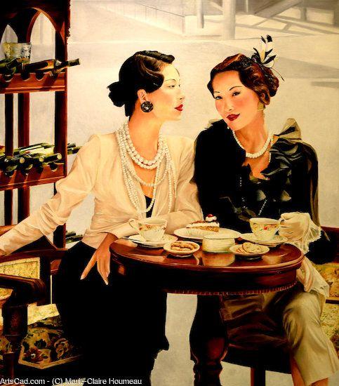 Произведение >> Мари-Клер Houmeau >> Перерыв на кофе