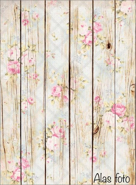 Shabby Chic Wooden Craft with Decoupage Finishing and use