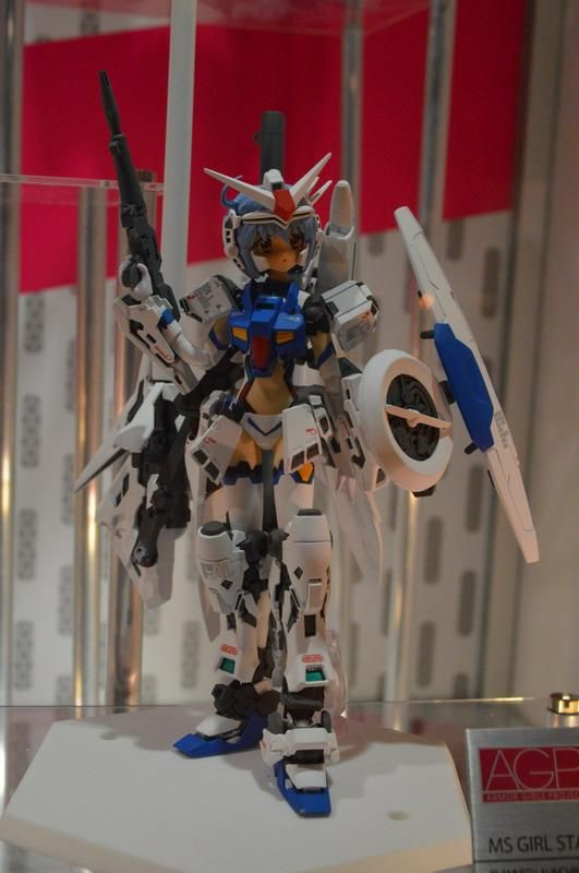 GUNDAM GUY: A.G.P. (Armor Girl Project) MS Girl GP-03S Stamen - On Display @ Tamashii Feature's Vol.4 Hong Kong