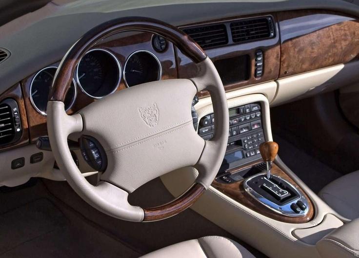 2005 Jaguar XK8 Convertible...this looks like the same dash as my 1998 XK8