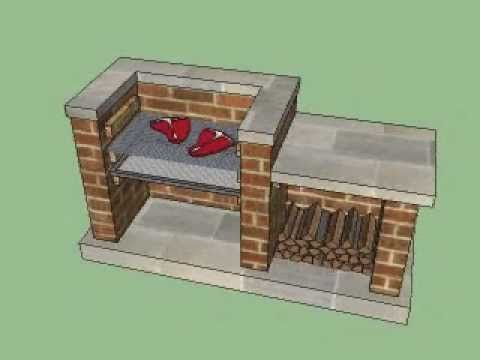 How To Build A Brick BBQ - YouTube