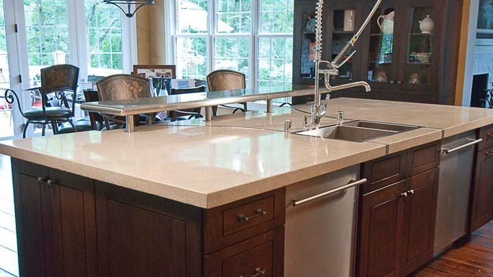 1000 Images About Concrete Countertops Kitchen Islands