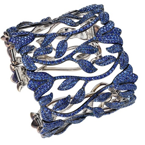 One-of-a-king sapphire bracelet.