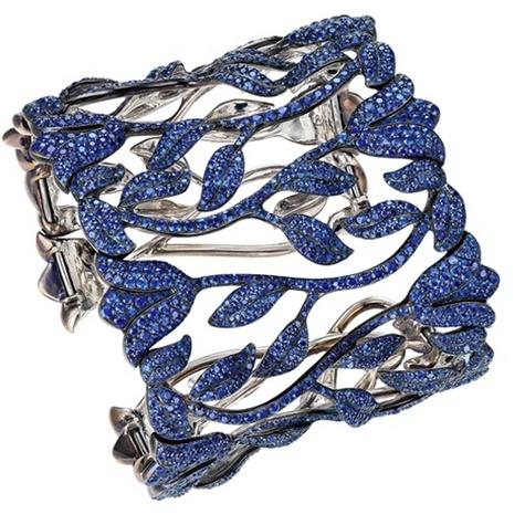 One-of-a-king sapphire bracelet.
