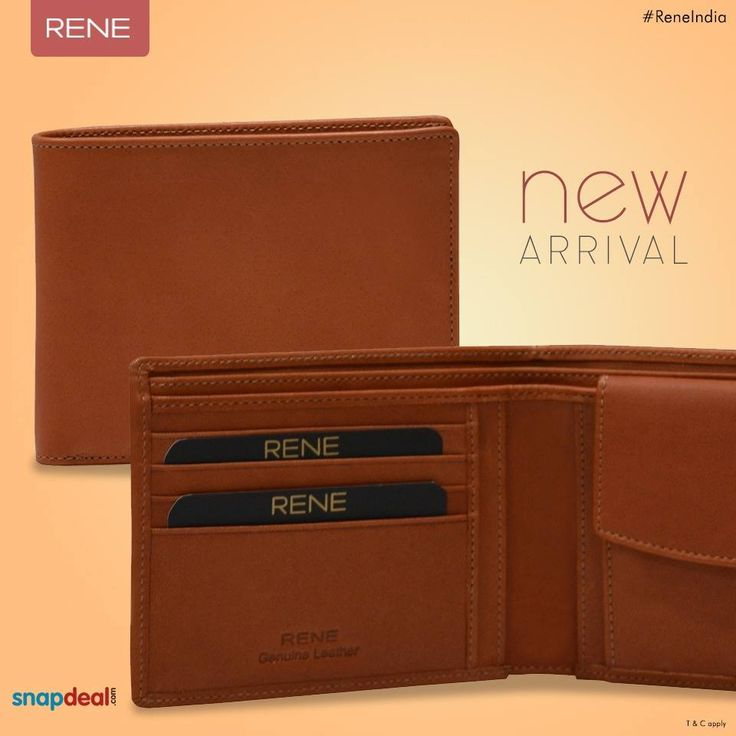 Carry the best to keep your valuable earnings. Get this new Rene Genuine Leather Wallet, feel its class & quality. Get it from #Snapdeal: http://bit.ly/29DpOvj #Wallet #GenuineLeather #Leather #Rene