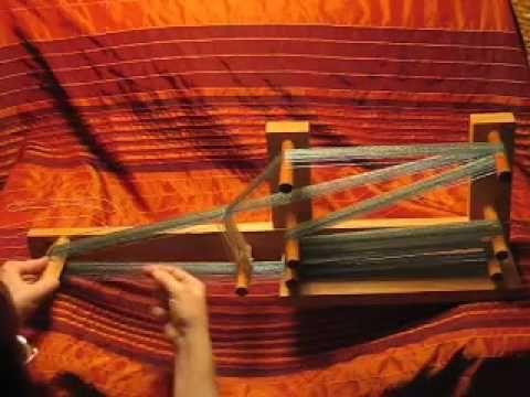 Warping an inkle loom
