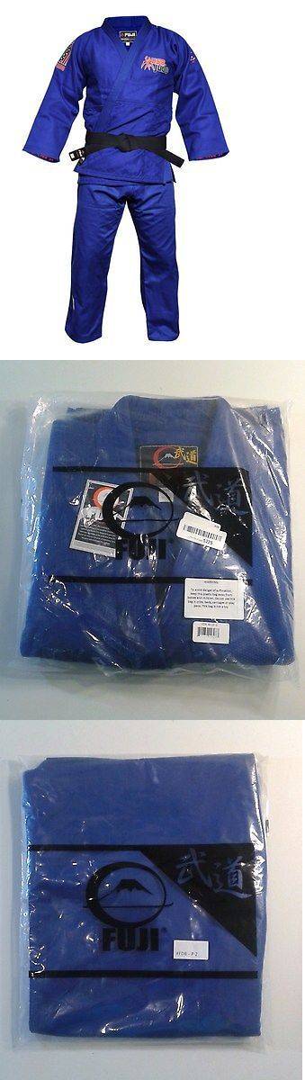 Uniforms and Gis 179774: Fuji Sports Double Weave Usa Judo Gi, Blue, Size 2 -> BUY IT NOW ONLY: $82.95 on eBay!