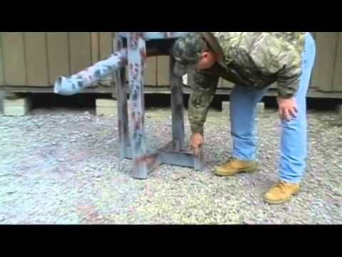 Build Your Own Deer Feeder For $20 - YouTube
