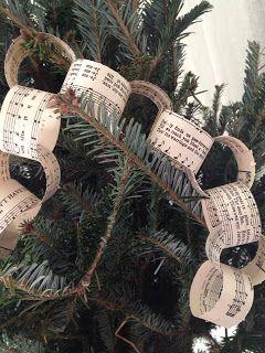 music paper chain