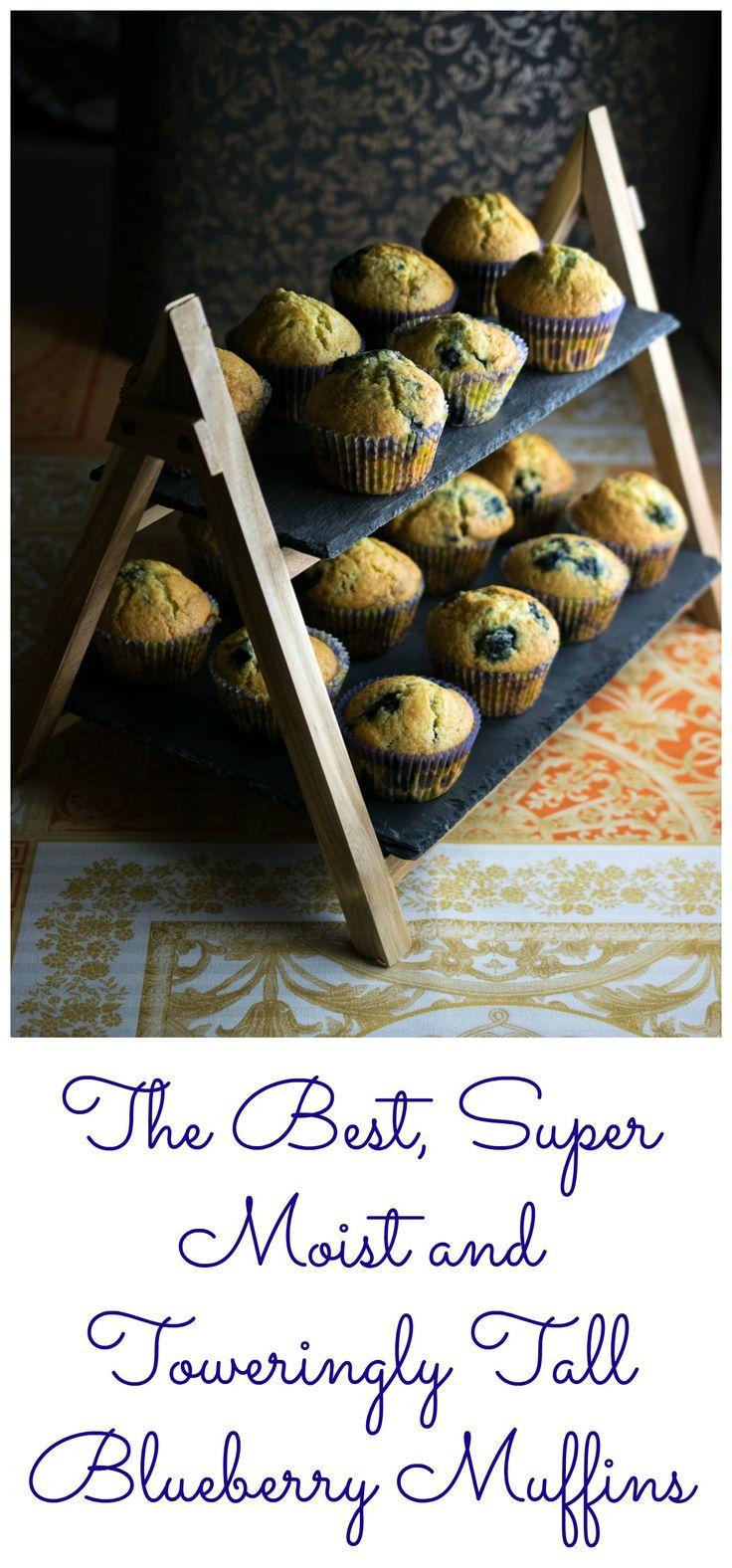Blueberry Muffins - custard powder addition really nice. Needs salt and more sugar, next time add lemon?