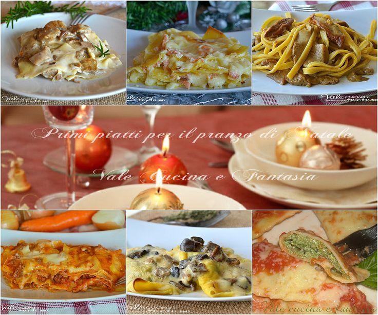 Primi piatti per il pranzo di Natale ricette facili