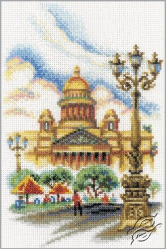 St. Isaac's Cathedral - Cross Stitch Kits by RTO - M291