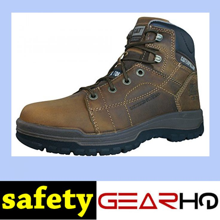 Caterpillar Dimen Hi SB Mid Cut Mens Leather Safety Boots
