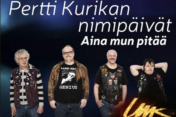 """Wiwi Jury UMK edition: Pertti Kurikan Nimipäivät with """"Aina mun pitää"""""""