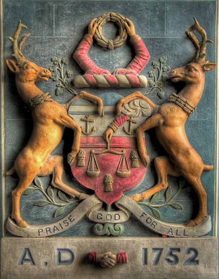 Coat Of Arms of the Bakers' Guild Of Saints Clement and Anne ~ National Museum Of Ireland, Collins Barracks, Dublin