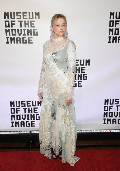 Haley Bennett attends Museum Of The Moving Image 30th Annual Salute honoring Warren Beatty at 583 Park Avenue on November 2, 2016 in New York City.