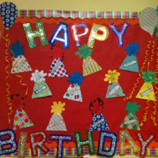 Birthday board for school...