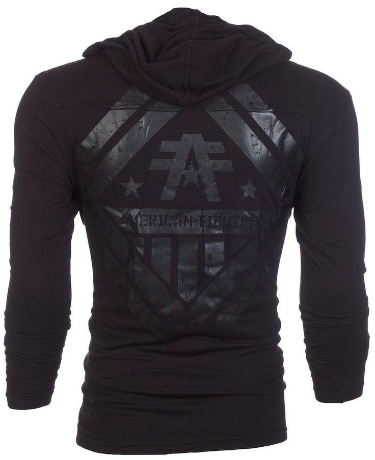 American Fighter AFFLICTION Men Hoodie Sweatshirt Jacket AVERETT Biker UFC S-3XL #Affliction #Hoodie