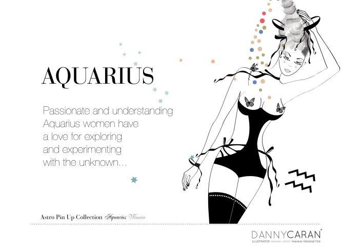 Astro Pin Up Collection #Aquarius