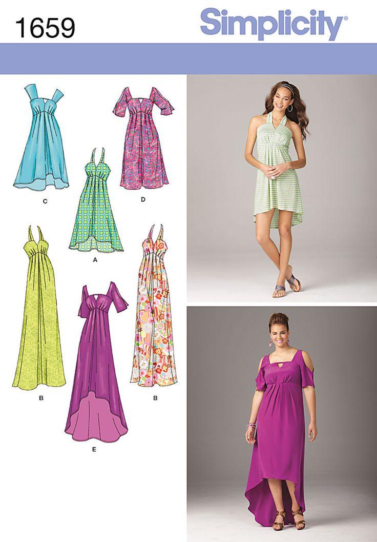 Simplicity Creative Group - Misses' & Plus Size Dresses