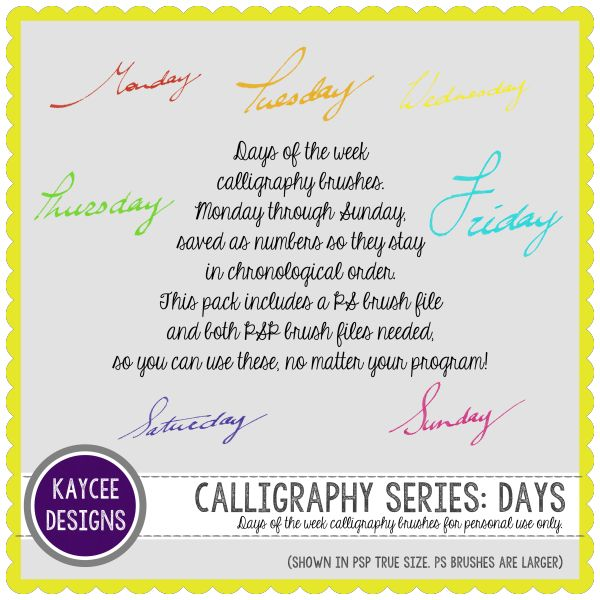 Freebie Week 3 - KayCee Layouts & Designs